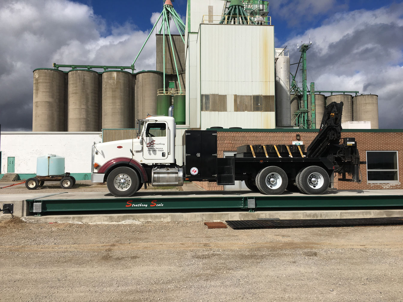 Strathroy Scale Truck Scale Installation