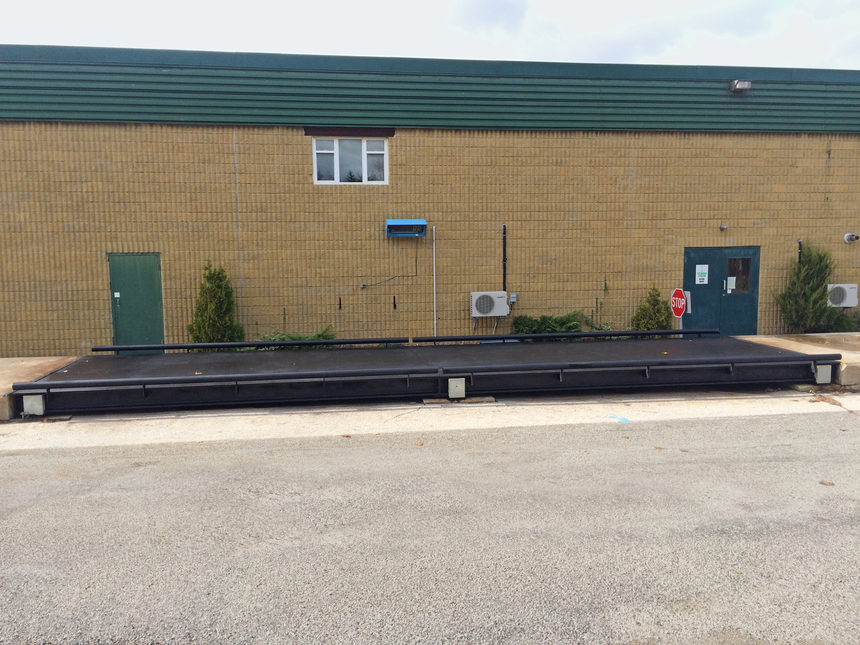 Weigh Scale Replacement Installation for the Municipality of Central Elgin, Ontario A photo.