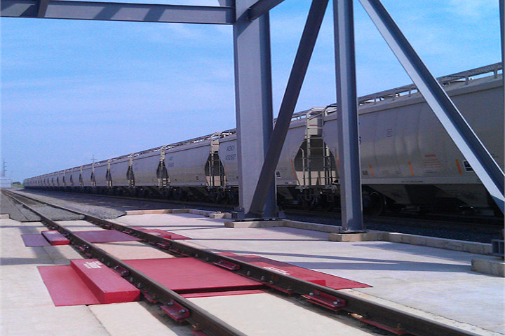 Rail Scale by Rice Lake Weighing Systems